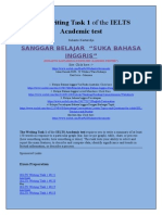 The Writing Task 1 of the IELTS Academic Test