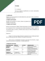 Requisitos Plan de Proyectos