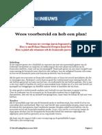 2010 - Wees Voorbereid (Inflatie!!!) en Heb Een Plan