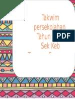 Cover Takwim 1