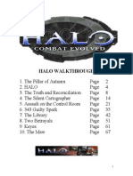 Halo Walk thorough