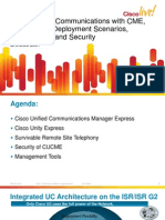 2011_anCisco Unified Communications With Cme, Cue Srst, Deployment Scenarios, Management and Securityz_pdf_BRKUCC-2301-Cisco Unified Communications With Cme, Cue Srst, Deployment Scenarios, Management and Security