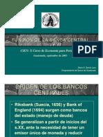 Bancos Centrales Buenisimo