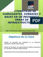 N°4 CARCTERISTICAS BASES Y SUBBASE Y COMPACTACION DE SUELOS
