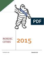 NORDIC. Award List - 2015