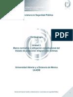 Unidad 3. Marco Normativo y Obligación Constitucional Del Estado de Protección Integral a Las Víctimas