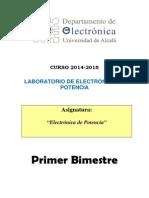 Lab EP 2014-15 Primer Bimestre GIEAI
