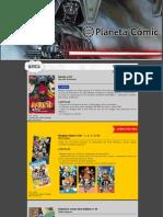 Avance Provisional Mayo2015 Planeta Cómic