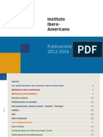 IAI Publicaciones 2012 2014