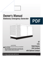 Eaton's 70kw Owner's Manual With Nexus 77P