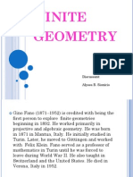 Finite Geometry