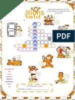 Crossword Prepositions Garfield