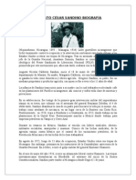 Biografia Sandino