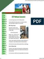 210135596 DIY Methane Generator