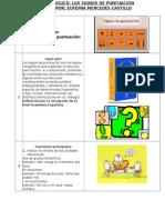 Guion Pedagogico-Los Signos de Puntuación