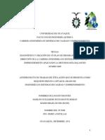 Metodología para la realización del primer capítulo de una tesis de grado