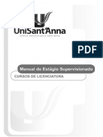 Manual de Estagios Licenciatura unisantanna