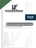 Manual de Estagios Licenciatura unisantanna