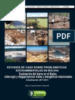 ESTUDIOS DE CASO SOBRE PROBLEMÁTICAS SOCIOAMBIENTALES EN BOLIVIA