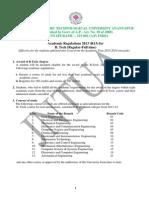B.tech. _ R13 _ Academic Regulations