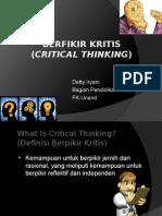 BERFIKIR KRITIS-PSPDG