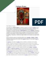 Pintura de La Antigua Roma