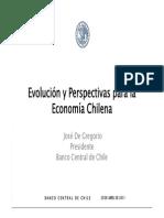 Evolucion Economia Chilena 2011