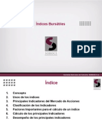 Indices Mercados Bursatiles