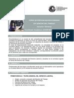 Cea Contenido Derecho Del Trabajo 2015-1