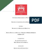 Trabajo Final, Estilo Directivo Personal Ernesto Pacheco