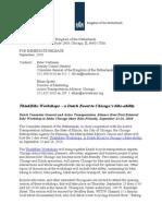 Press Release Thinkbike Workshop Chicago