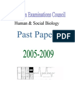 Human Biology Past Paper.docx