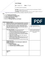 lesson plan template-pic collage