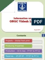 OVL Information Aug 2011