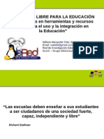 Software Libre Educacion