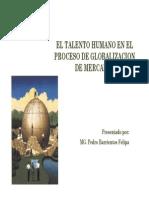 El Talento Humano en El Proceso de Globalizacion
