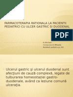 Farmacoterapia Ulcer La Copii