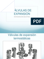 Válvulas de Expansión - Selección