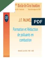 Formation Réduction de Polluants