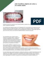 No mas de raiz canalsh Cientificos objetivo de volver a crecer los dientes con celulas madre
