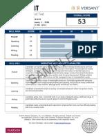 Sample SCORE REPORT Versant English Placement Test Watermark(1)