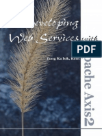 Developing Web Services With Apache Axis2 Second Edition