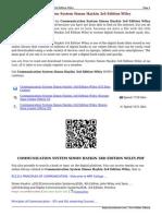Communication System Simon Haykin 3rd Edition Wiley WPEj0