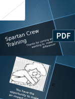 spartan crew training