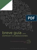 Breve Guía Para Dominar Tus Deducciones 1a Ed 2014 Preview