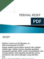 3. Farmasi Perial Resep