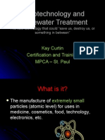 Nanotechnology and Wastewater Treatment