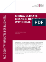 Dealing with coal in China