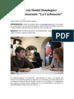 Entrevista Daniel La Carboneria