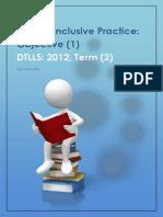 Inclusive Practice Handout 03 03 2012